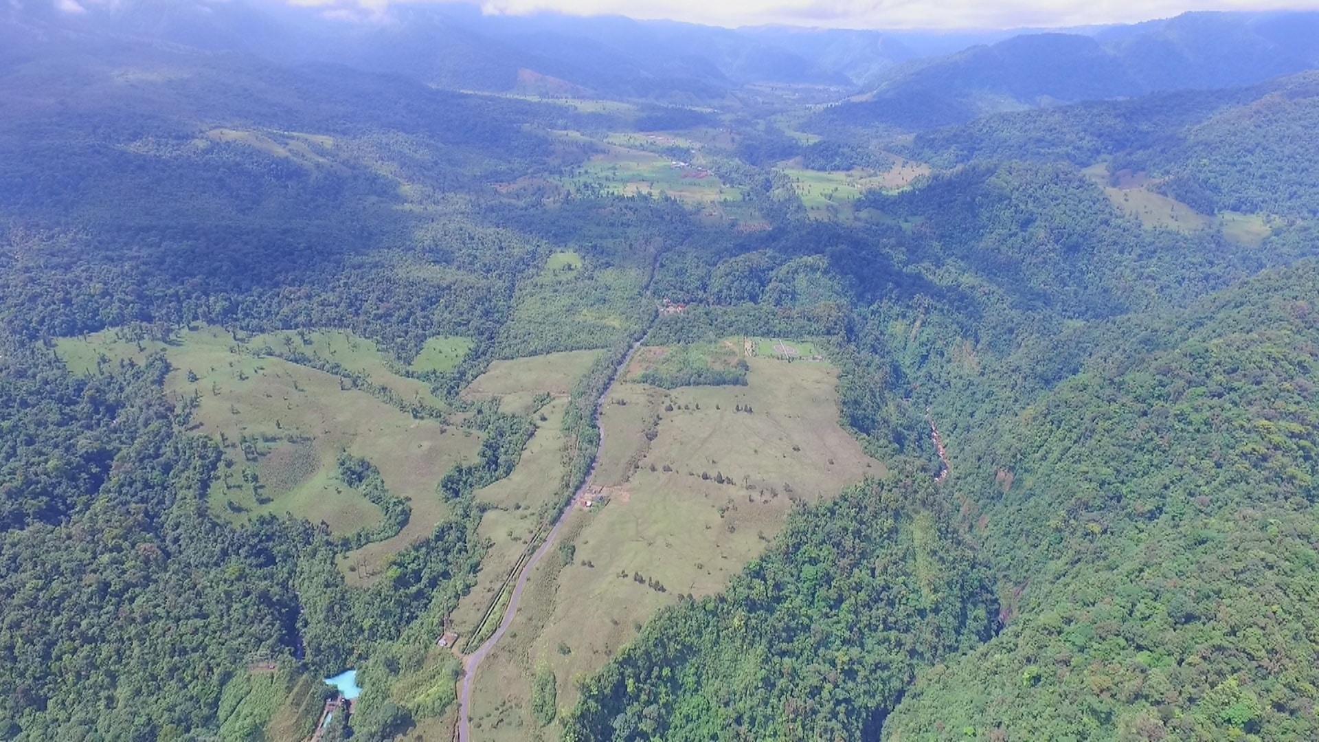 Bajos Del Toro valley
