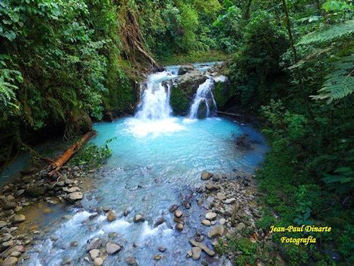 Blue Falls of Costa Rica